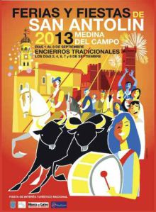 Cartel oficial San Antolín 2013