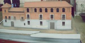 Maqueta del antiguo Palacio Real.