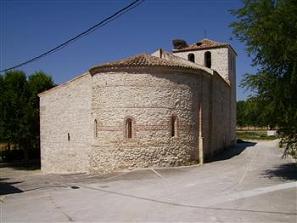 Iglesia de San Juan Bautista. Foto: Ayuntamiento Santibáñez de Valcorba