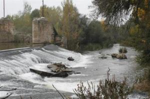 Río a su paso. Foto: Ayuntamiento de San Miguel del Pino
