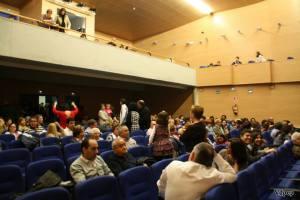 Público asistente al Auditorio de Mojados