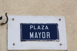 Cartel de la Plaza Mayor