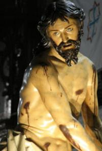 Talla de Cristo, Semana Santa