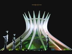 Catedral de Brasilia. Gracias a Wikipedia