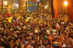 Carnaval. Foto: Viaje a Brasil.