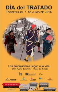 Tratado de Tordesillas. Foto: CIT Tordesillas.