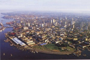 Vista aérea de Manaos. Foto: Visita Brasil.