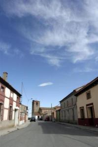 Calle del municipio. Foto: Ayuntamiento Llano de Olmedo
