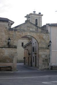 Arco en Plaza Mayor. Foto: Provincia de Valladolid.