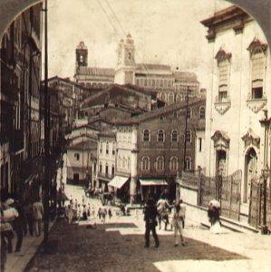 El Pelourinho en el año 1900. Fuente: Wikipedia