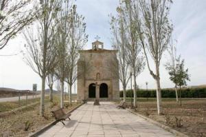 Ermita del Santo Cristo de la Guía. Gracias a la página web de Villabáñez.