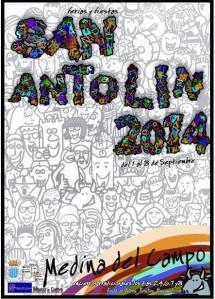 Cartel Oficial San Antolín 2014