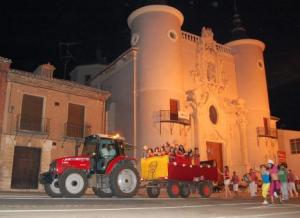 tractor party rueda