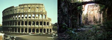 coliseo- monasterio abandonado