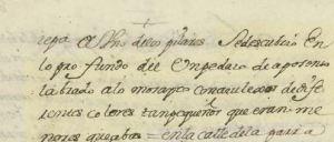 Noticia del descubrimiento de un mosaico romano al abrir un cimiento en la Catedral de Valladolid.