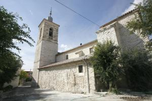 Iglesia de San Justo y Pastor. Foto: Provincia de Valladolid