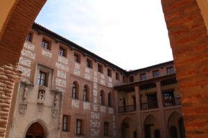 Interior Castillo la Mota