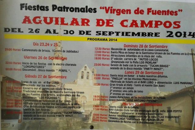 Programa Aguilar de Campos. Vía: Leticia Villanueva
