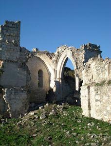 Ruinas  Monasterio de San Pelayo antes de la Rehabilitacion