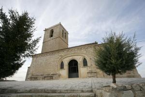 Iglesia de San Pedro Apostol. Foot: Provincia de Valladolid