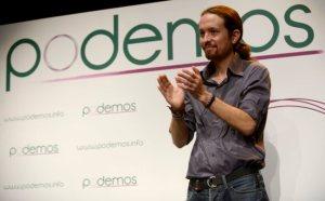 Pablo Iglesias, líder de Podemos. Foto: El Mundo