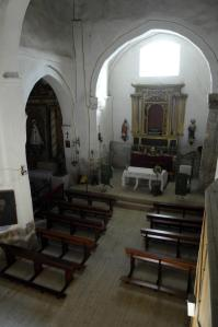 Interior de la Iglesia de Santa Juliana. Foto: Provincia de Valladolid