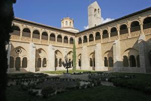 Patio interior del Monasterio de Santa María de Valbuena. Foto: Provincia de Valladolid