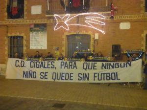 Manifestación en Cigales. Foto: Jesús Zalama