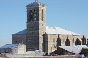 Iglesia de San Martín de Tours. Gracias al Ayuntamiento.