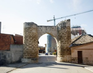 Arco en el pueblo. Foto: Ayt. Becerril