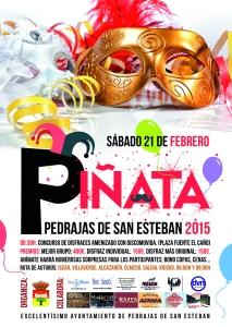Programa de los carnavales de Pedrajas de San Esteban