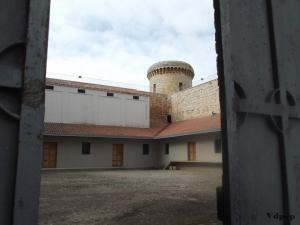 Patio interior Castillo de Torrelobatón.