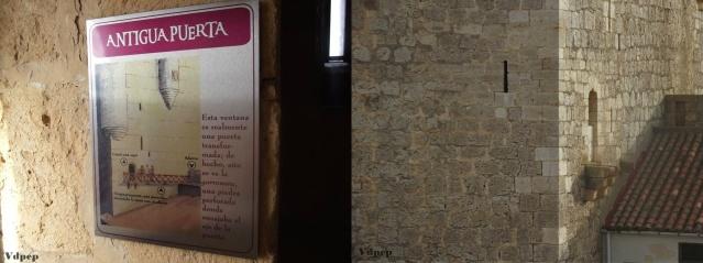 Antigua puerta de entrada al Castillo