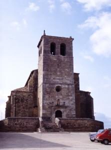 Santa María del Castillo. Foto: Web Ayuntamiento Frómista
