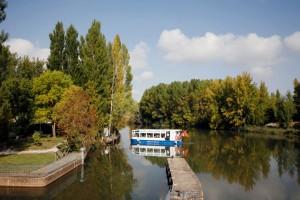 Canal de Castilla. Foto: Web Ayuntamiento Villaumbrales