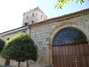 Iglesia Parroquial de Encinas. Foto: Valladolid, de pueblo en pueblo
