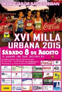 08-08-2015. XV MILLA URBANA PEDRAJAS DE SAN ESTEBAN 2015