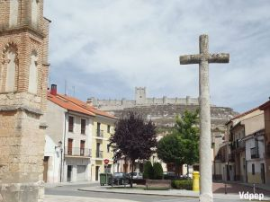 Vista del Castillo desde la Iglesia de San Pablo