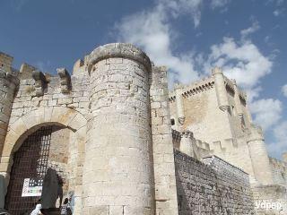 Entrada al Castillo de Peñafiel.