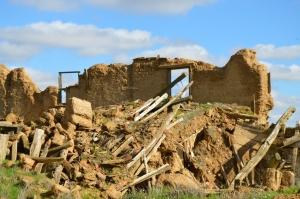 Ruinas en Villacreces. Foto propia