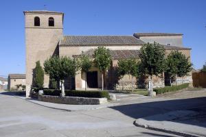 Iglesia Santos Justo y Pastor. Foto: Ayuntamiento Cuenca de Campos