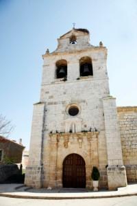 Iglesia parroquial Nuesta Señora de la Asunción. Foto: Ayuntamiento de Villaviudas