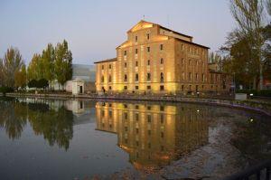 Canal de Castilla y Fábrica de Harinas. Foto: propia
