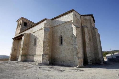 Iglesia de San Pelayo. Foto: Ayuntamiento de Olivares.