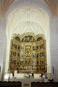 Retablo de la Iglesia de San Pelayo. Foto: Ayuntamiento Olivares
