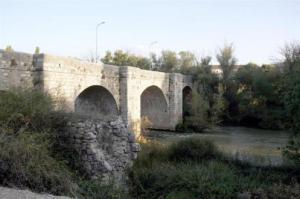 Puente de Olivares de Duero. Foto: Ayuntamiento Olivares.