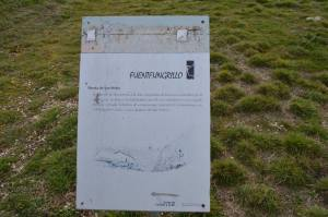 Cartel de Fuenteugrillo. Foto: EnPueblo