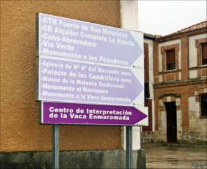 Carteles turísticos de Palazuelo de Vedija. Foto: EnPueblo