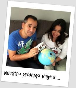 Jose y Eva darán la vuelta al mundo en 5 semanas. Foto: www.organizotuviaje.com