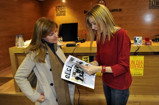 Tamara Crespo y Pepa Fernández. Foto: El Cisco.